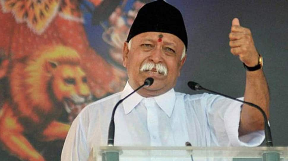 RSS conclave: Everyone living in India is Hindu, says Mohan Bhagwat