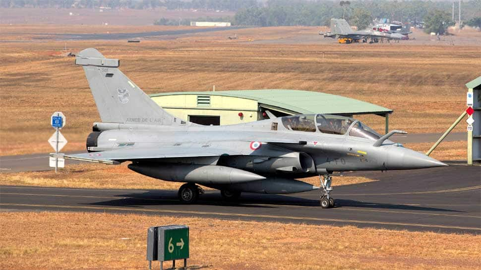 IAF deputy chief Air Marshal Raghunath Nambiar flies Rafale jet in France as political slugfest continues in India
