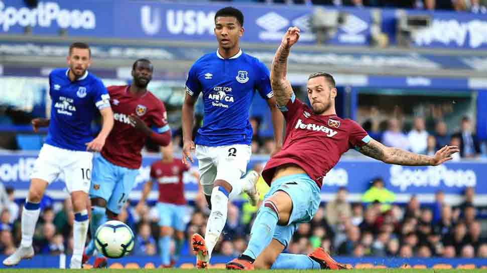 West Ham's Arnautovic a doubt for Chelsea visit following knee concerns