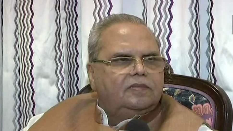 Jammu and Kashmir Governor Satyapal Malik condemns killing of cops, terms it 'barbaric'