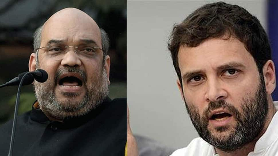 Amit Shah's scathing attack on Rahul Gandhi, asks if he has formed 'mahagathbandhan' with Pakistan against PM Narendra Modi