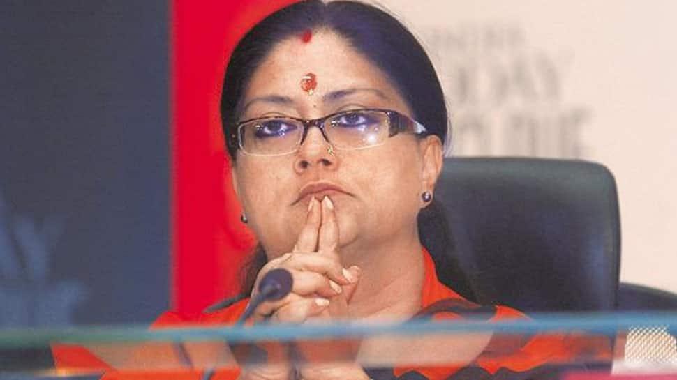 Rajasthan CM Vasundhara Raje targets Congress' Ashok Gehlot over remark against govt programme on martyrs