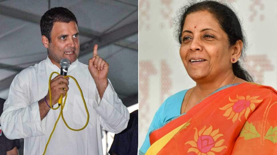 No wonder today the buzz is #RahulKaPuraKhandanChor: Sitharaman's counter-attack on Congress chief