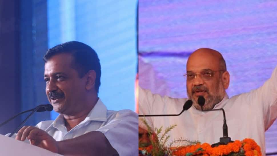Let's debate on Delhi government, Centre's performance in public: Arvind Kejriwal dares Amit Shah