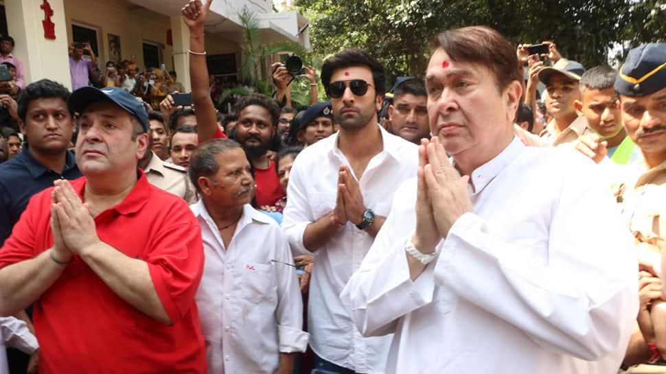 RK Studios comes alive with Ganpati Visarjan celebrations