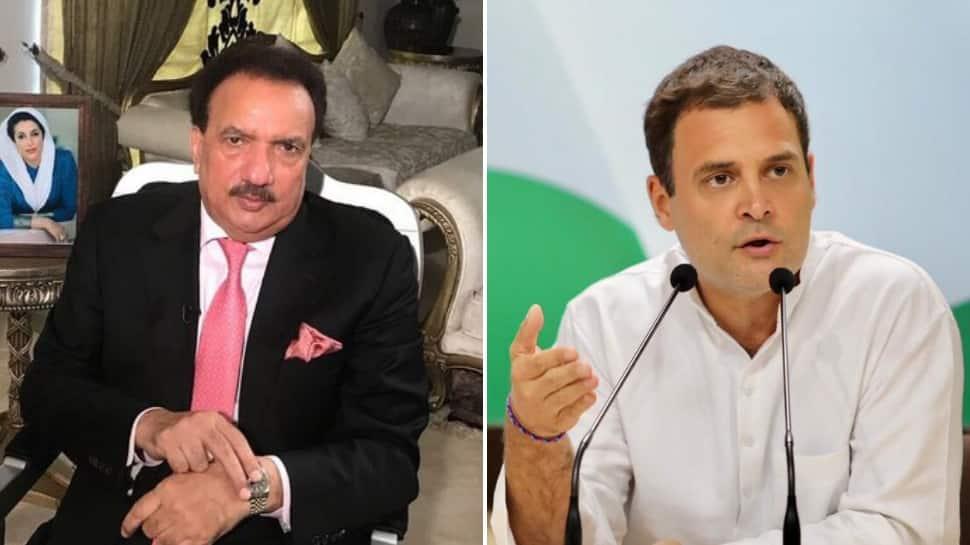 Ex-Pakistan minister Rehman Malik targets PM Narendra Modi with 'next PM' Rahul Gandhi's video