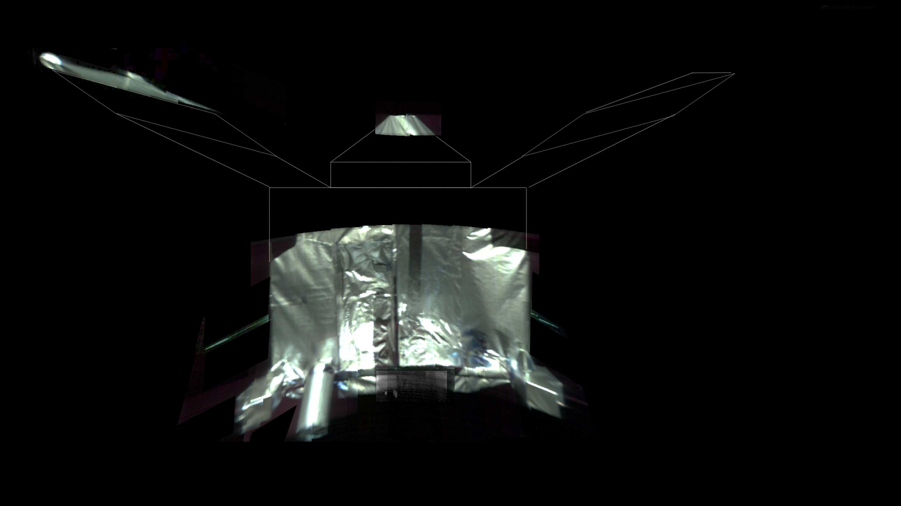 NASA's Mars probe beams back selfie to mark four years in orbit