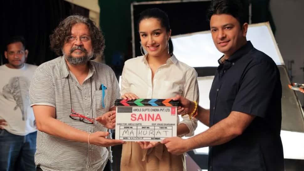 Saina Nehwal's biopic starring Shraddha Kapoor goes on floor