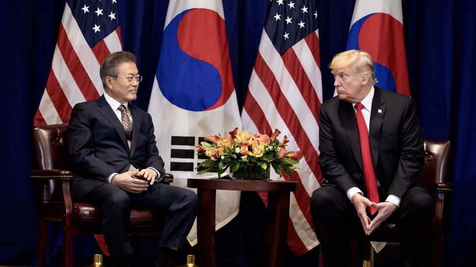 Donald Trump inks his first trade deal with South Korea