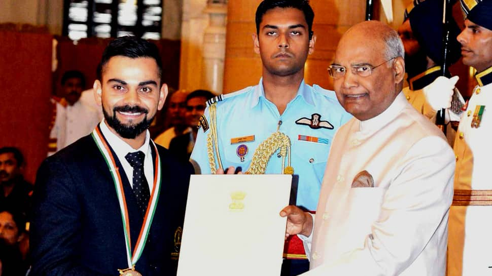 Virat Kohli, Mirabai Chanu honoured with Rajiv Gandhi Khel Ratna award
