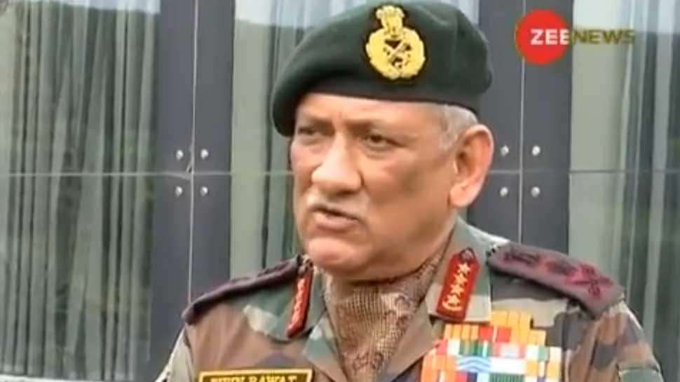 Surgical strike not the only option to tackle terrorism from Pakistan: Army Chief Gen Bipin Rawat