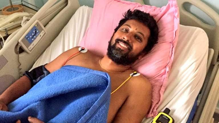 Rescued Navy Cdr Abhilash Tomy recalls how he survived mid-sea despite his injuries