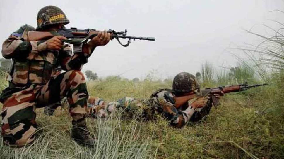 Three separate encounters underway between security forces, terrorists in Jammu and Kashmir; Army jawan martyred, 3 terrorist killed