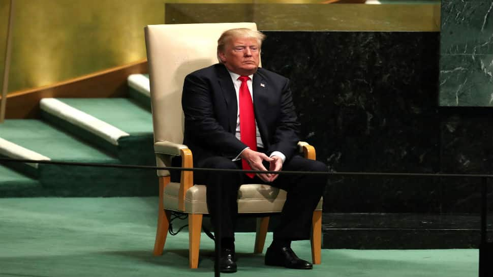 Donald Trump laughed at in UN, claims people enjoy his company