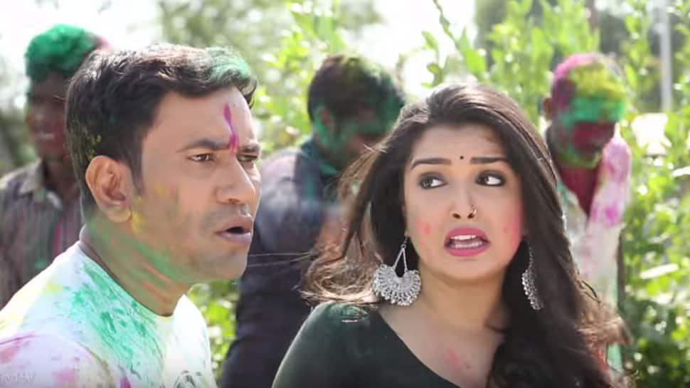 Amrapali Dubey-Dinesh Lal Yadav aka Nirahua's latest Tik Tok video is hilarious—Watch