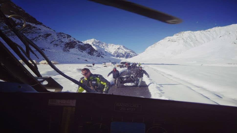 Indian Air Force choppers rescue more stranded people in Himachal