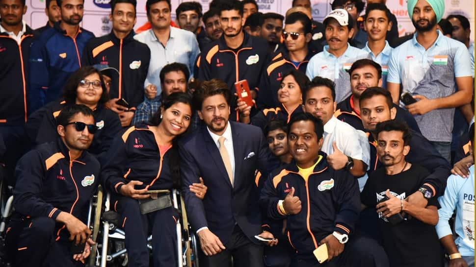 Shah Rukh Khan learnt celebrating incompleteness through para-athletes