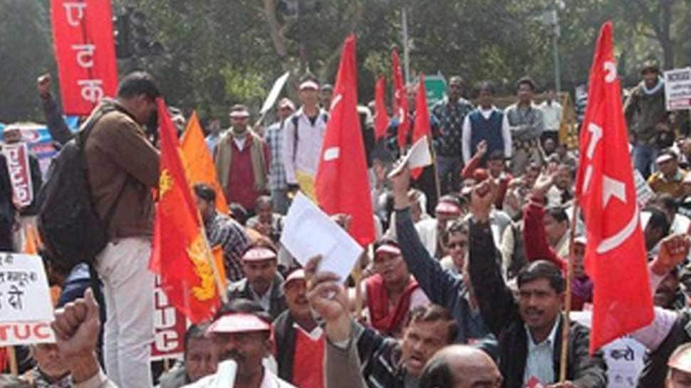 Trade unions call for two-day national strike on January 8 against BJP's anti-people policies