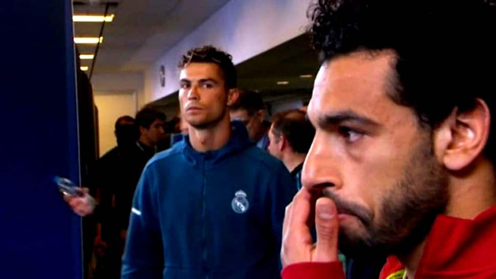 My goal was better than Mohamed Salah's: Cristiano Ronaldo on goal of the year award