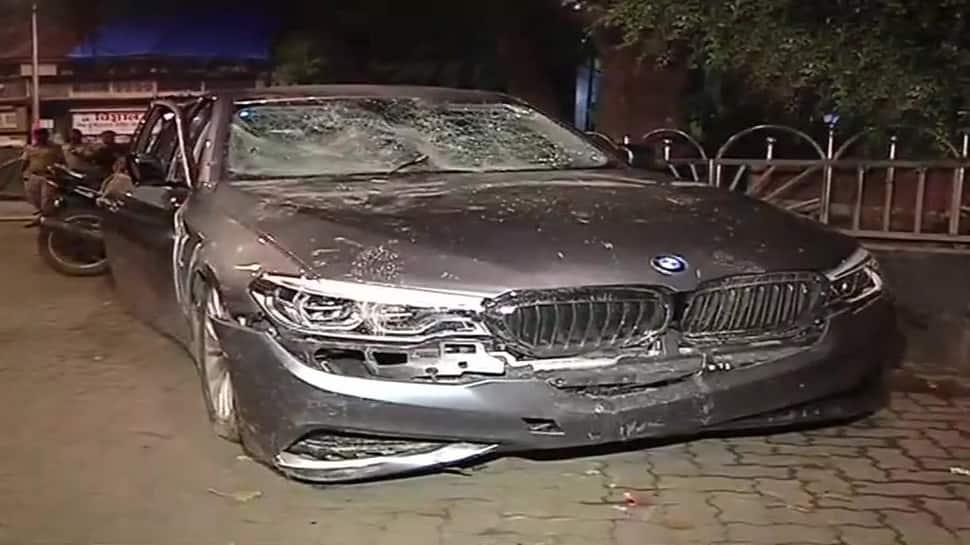 Drunk man driving BMW hits multiple vehicles in Mumbai, 2 injured