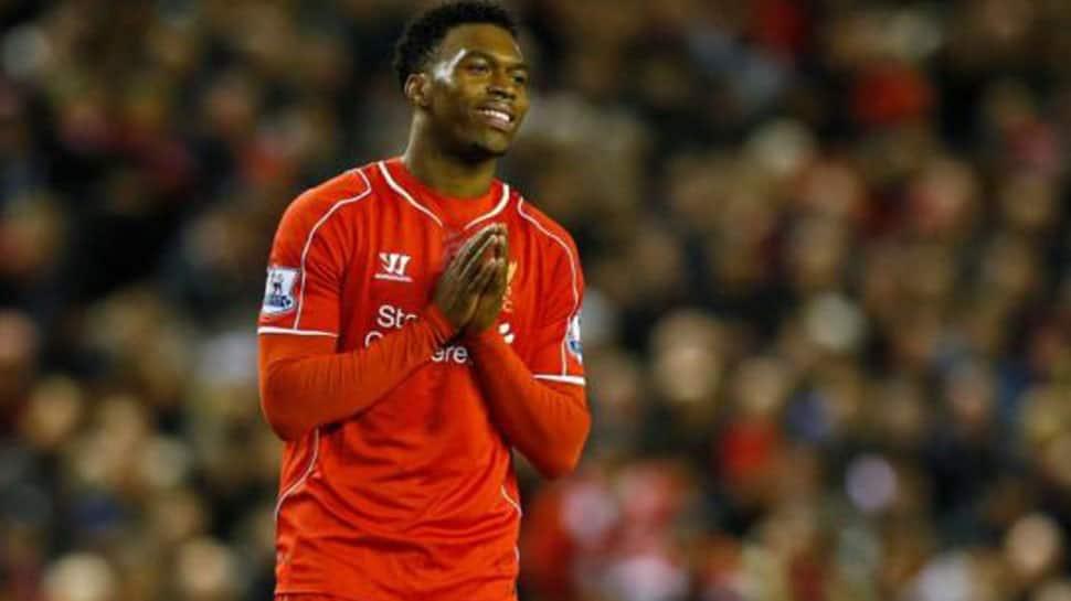 Liverpool manager Jurgen Klopp salutes striker Daniel Sturridge' goal against Chelsea