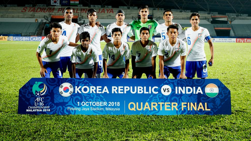 AFC U16 Championship: Deja vu as India lose 0-1 to South Korea in quarterfinals