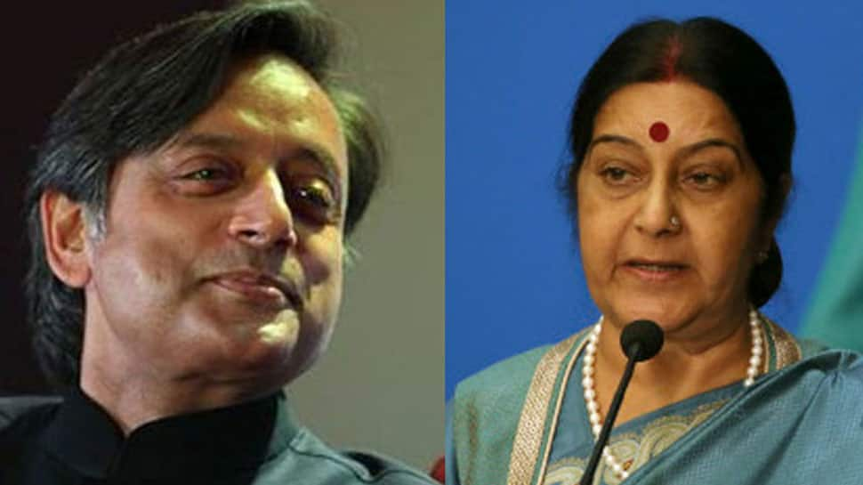 Sushma Swaraj mentioned PM Modi 10 times, spoke about India only 5 times in her UN speech: Shashi Tharoor attacks BJP again