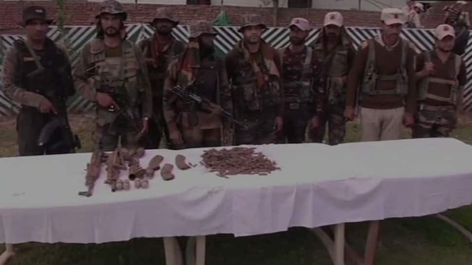 Massive terror hideout busted by Indian Army, police