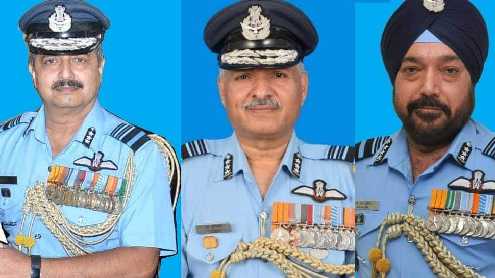 Major reshuffle in IAF; Air Marshal VR Chaudhari takes over as Deputy CoAS, Raghunath Nambiar appointed EAC chief and HS Arora as SWAC chief