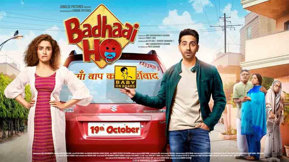 Sanya Malhotra-Ayushmann Khurrana's Badhaai Ho to release on October 19
