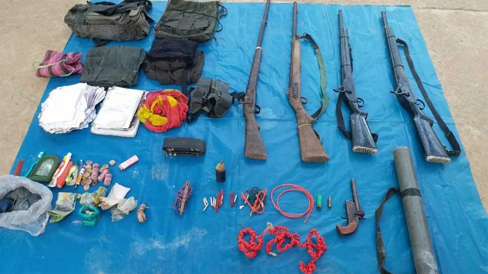 Three Naxals killed in encounter in Chhattisgarh; arms seized