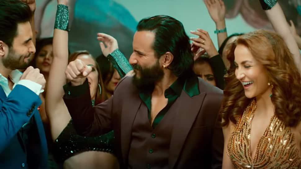 Billionaire song: Saif Ali Khan, Elli AvrRam, Rohan Mehra groove to Yo Yo Honey Singh's party track—Watch