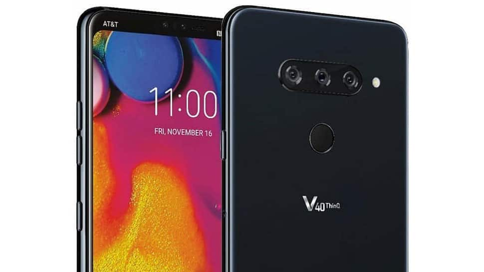 LG unveils V40 ThinQ with 5 cameras