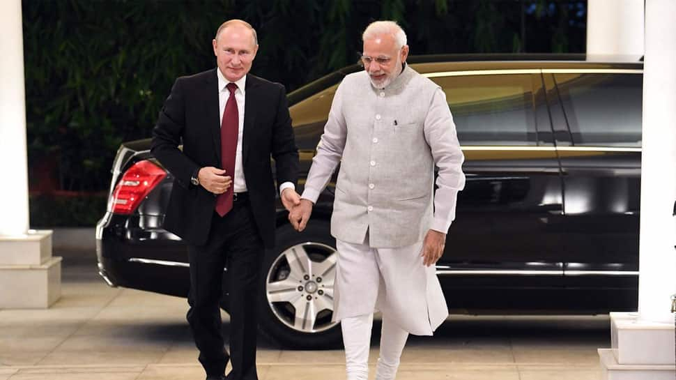 Russian President Vladimir Putin arrives on 2-day visit to India, meets PM Modi; S-400 missile deal in focus