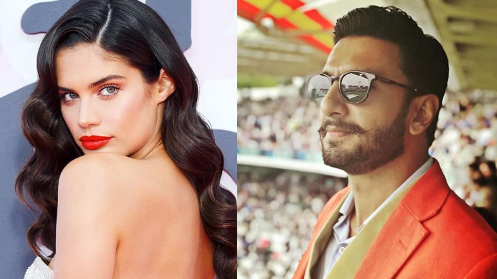 Ranveer Singh and Victoria's Secret supermodel Sara Sampaio raise the temperature on Vogue cover—Pic inside