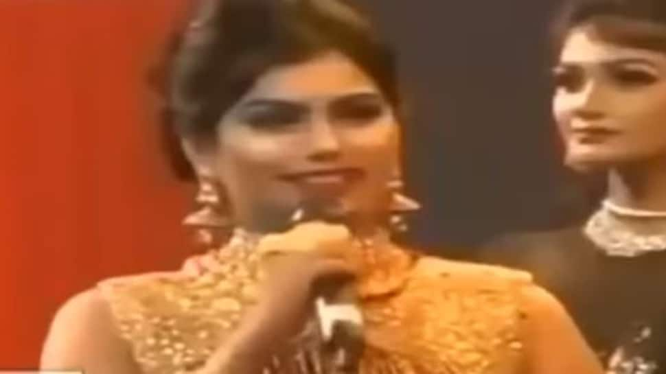 Miss World Bangladesh 2018 contestant was asked what H20 stands for, her response will leave you in splits-Watch
