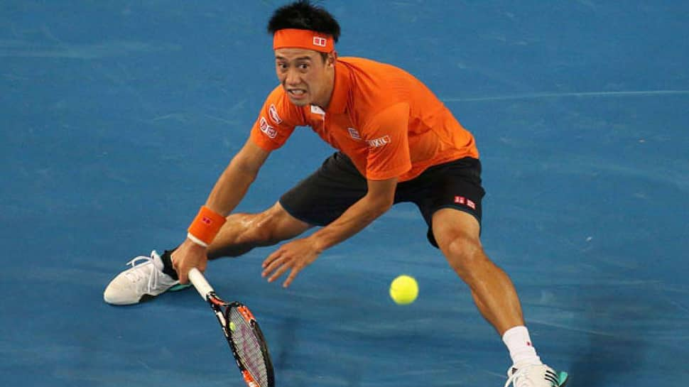 Tennis: Nishikori through to Japan Open final against Medvedev