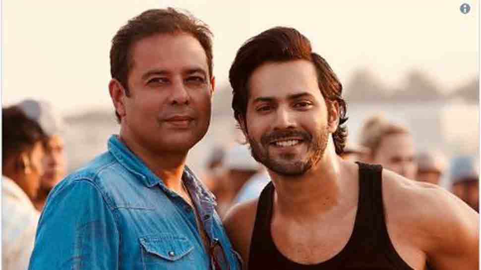Salman Khan's brother-in-law Atul Agnihotri shares Varun Dhawan's photo from Bharat sets