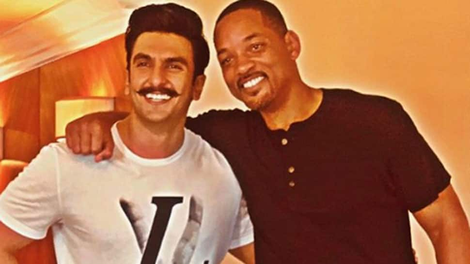 Hollywood star Will Smith strikes a pose with Bollywood biggies- See pics
