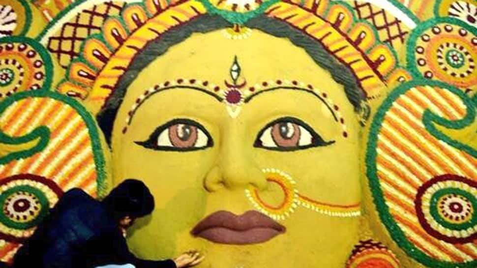 Shubho Mahalaya 2018: Sudarsan Pattnaik pays beautiful sand art tribute to Goddess Durga—See pic