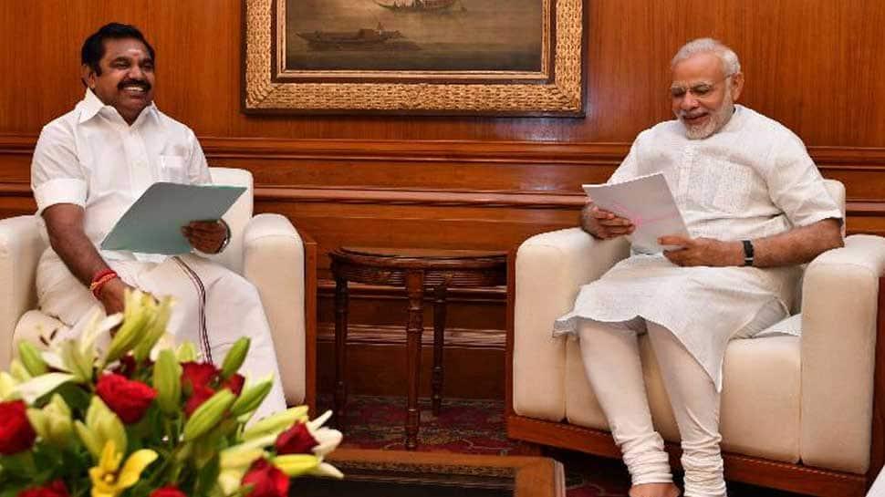 Tamil Nadu CM Edappadi K Palaniswami meets PM Narendra Modi, says decision on alliance after announcement of polls dates