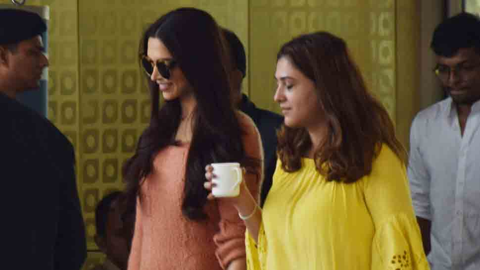 Deepika Padukone slays casual look as she gets snapped at airport post an ad shoot — See pics