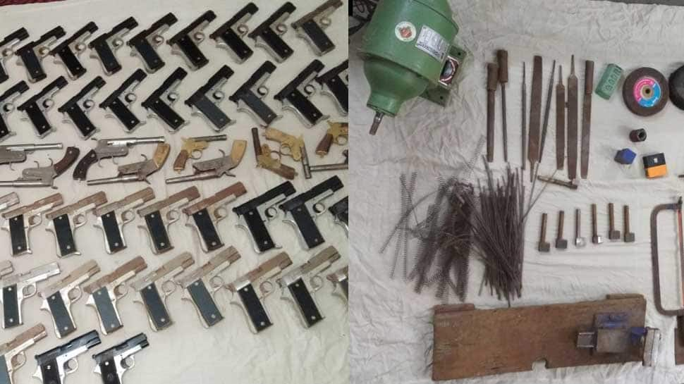 Delhi Police busts illegal arms factory in Meerut; 5 arrested, 84 pistols seized