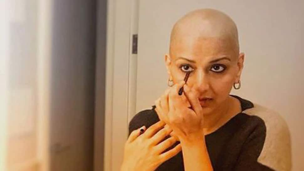 Sonali Bendre on her battle with cancer: My focus remains to get better and return home