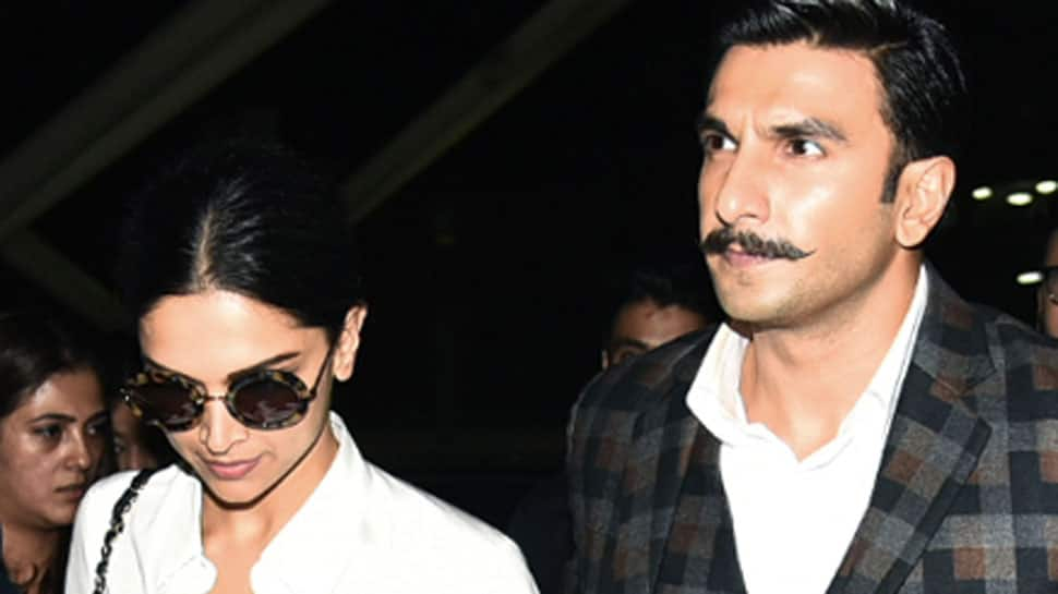 Deepika Padukone dines with Ranveer Singh and his mother; couple strikes a pose with fans - See pics
