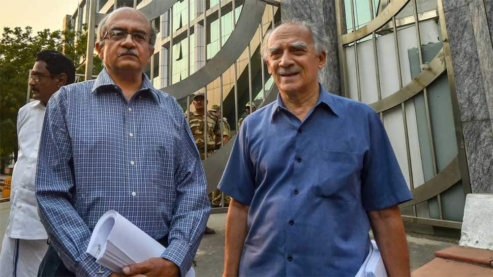 Centre 'unhappy' with CBI Director meeting Arun Shourie, Prashant Bhushan over Rafale deal