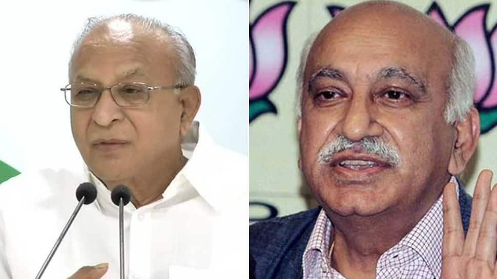 Congress demands Union Minister MJ Akbar's resignation over #MeToo allegations