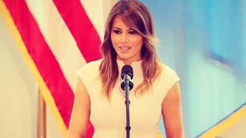Melania Trump wants #MeToo accusers to show 'hard evidence'