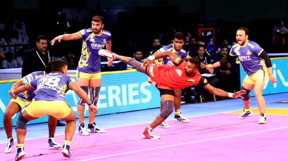 Pro Kabaddi: Bengaluru Bulls hunt down Tamil Thalaivas 48-37, U Mumba edge past Jaipur Pink Panthers