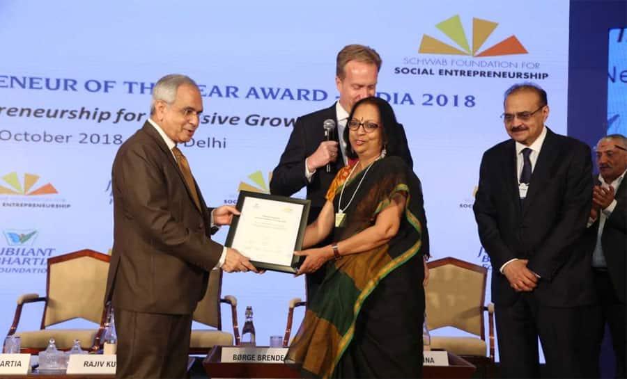 Prema Gopalan wins Social Entrepreneur of the Year India 2018 award